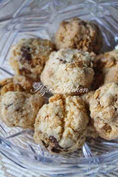 Azie Kitchen Biskut Cornflakes Rangup Recipes Festive Cookies Yummy Cookies