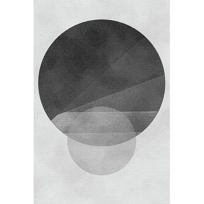 "Mercury Row Escalier Graphic Art on Wrapped Canvas Size: 26"" H x 18"" W x 0.75"" D"