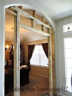 Turn An Rarely Used Living Room Or Dining Room Into A Home Office By  Framing In French Doors   Great Way To Make It Multi Functional For Resale