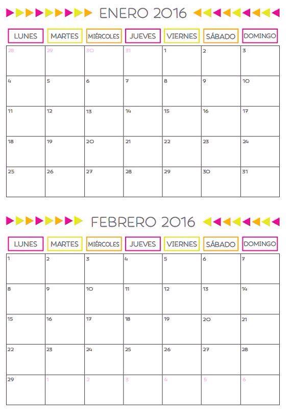 Enero y febrero 2016