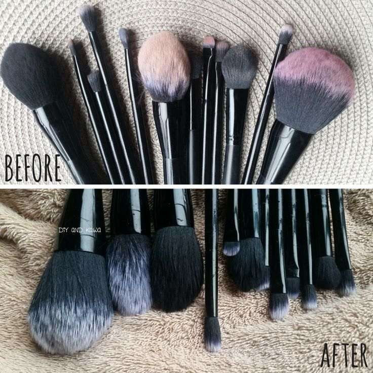 How to Clean Makeup Brushes Cleaning hacks, Clean