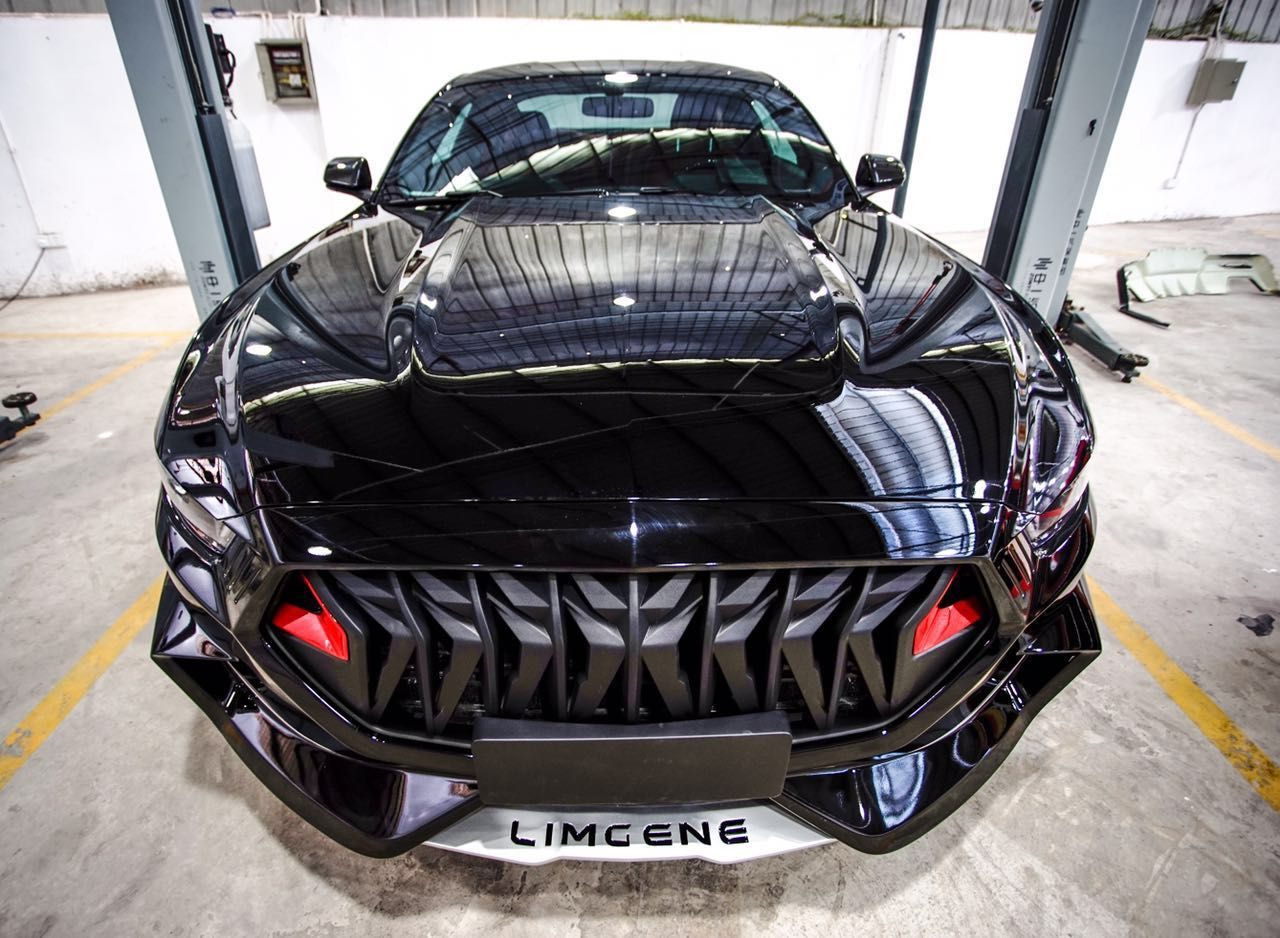 Limgene mustang body kit front mustang cars ford mustang body kits pony