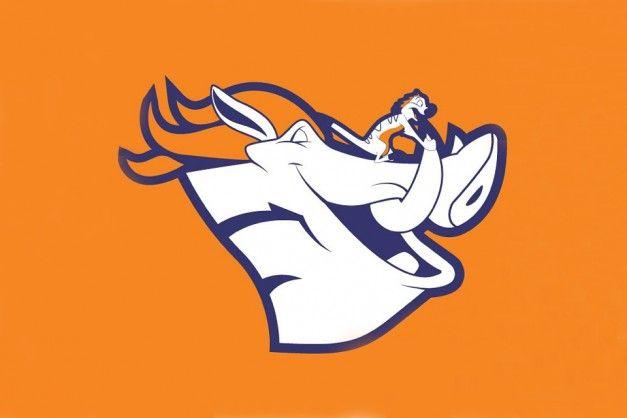 Broncos disney logo nfl denver broncos pinterest disney broncos disney logo voltagebd Image collections