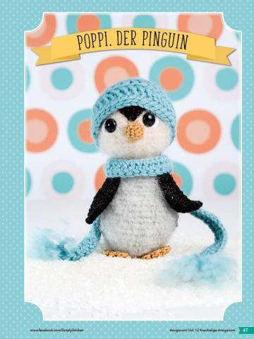 Häkelanleitung Pinguin Fantastische Haekelideen Amigurumi Vol. 12