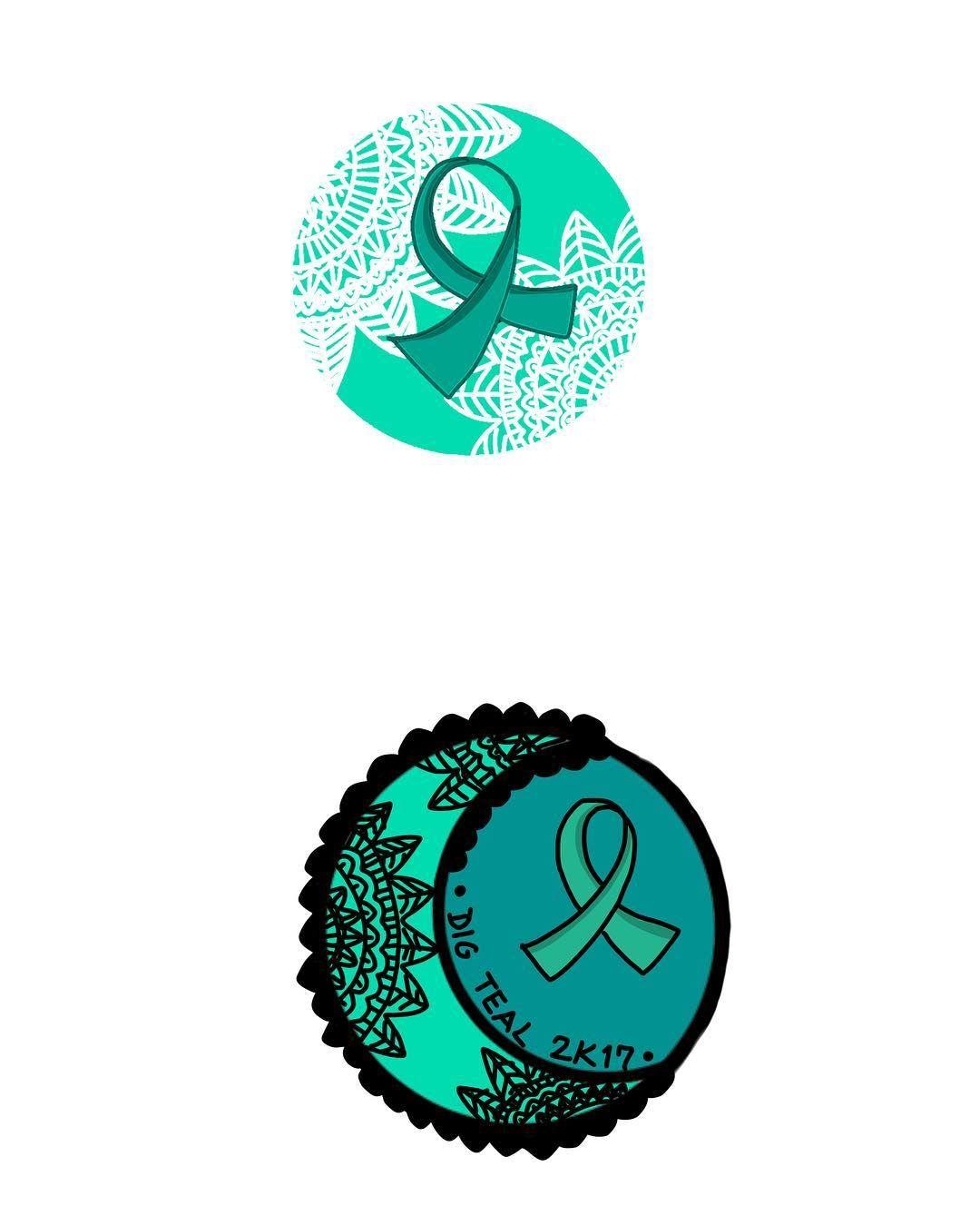 Dig Teal-Ovarian Cancer Awareness | Ovarian Cancer Awareness ...