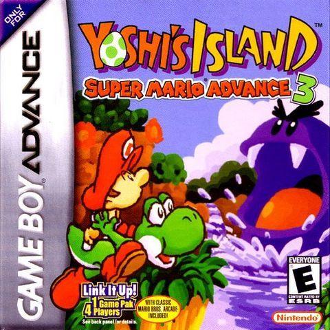 Yoshi S Island Super Mario Advance On Nintendo Gameboy Advance