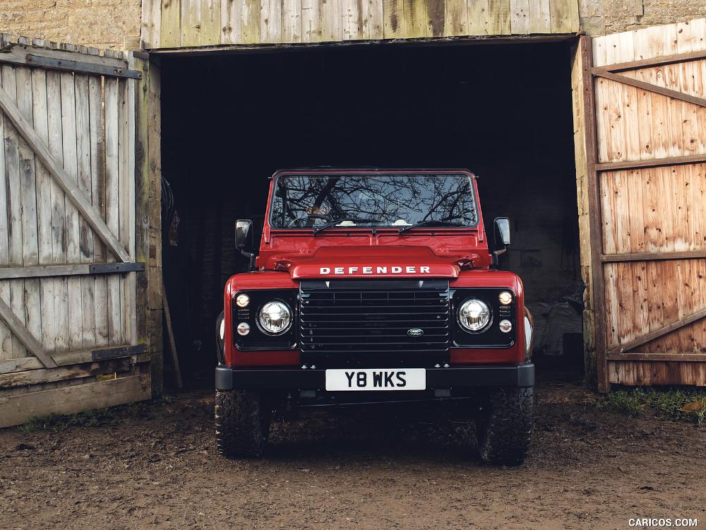 2018 Land Rover Defender Works V8 Land Rover Defender New Land