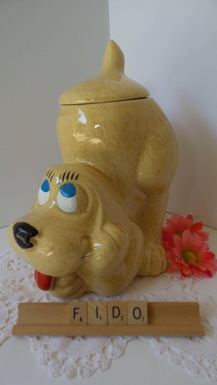Vintage Mccoy Dog Cookie Jar Mccoy Hound Dog Cookie Jar Thinking