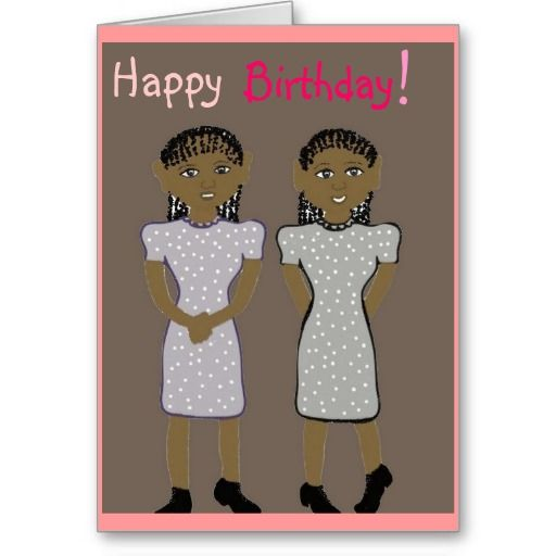 Happy Birthday For Twins Card My 644 Followers You Are Amazing