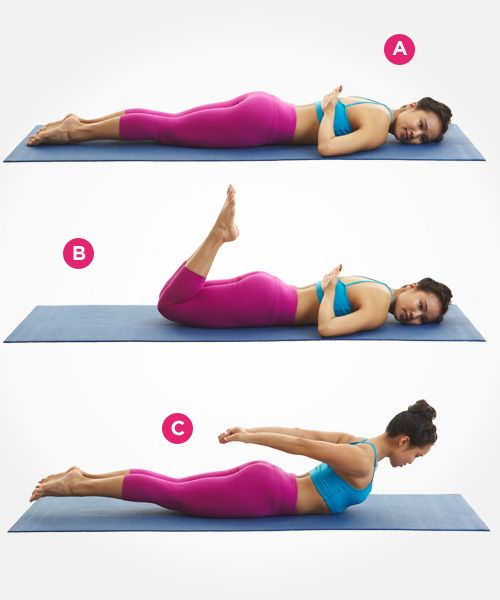 7 Pilates Moves For A Strong, Sexy Back
