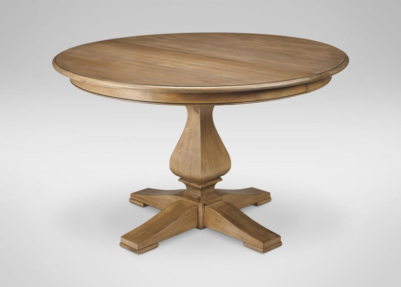 cameron round dining table dining tables ethan allen new rh pinterest com