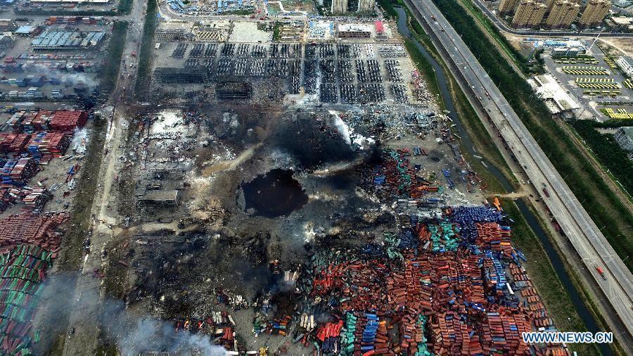 Tianjin explosión