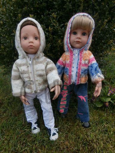 Pletení na panenky - {Knitting for dolls - my work} – Lucie Vis – Webová alba Picasa