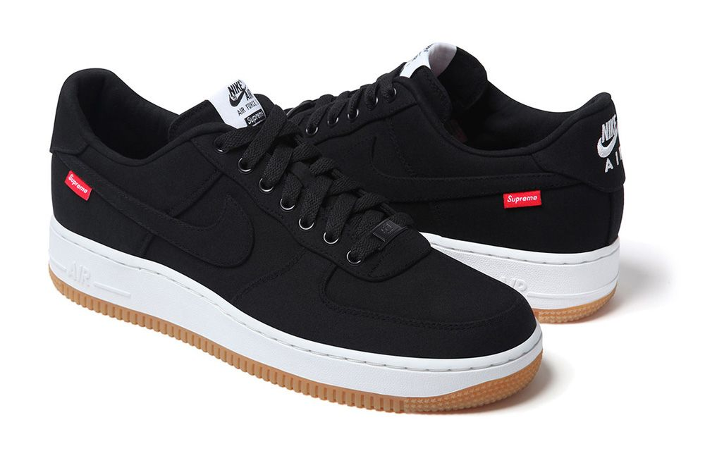 fax regla Presentar  First Look at the Supreme x Nike Air Force 1 Low 2020 | Nike air ...