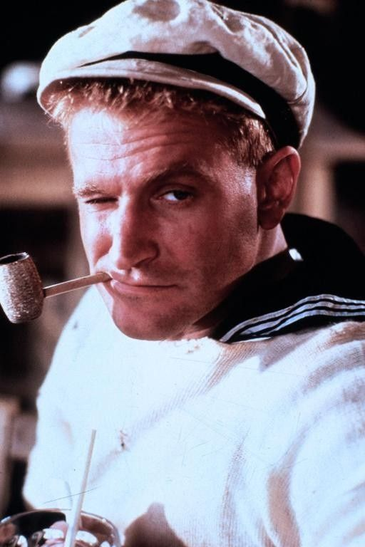 Robin Williams — There is no comic relief for this | Robin williams popeye,  Robin williams, Robin williams movies