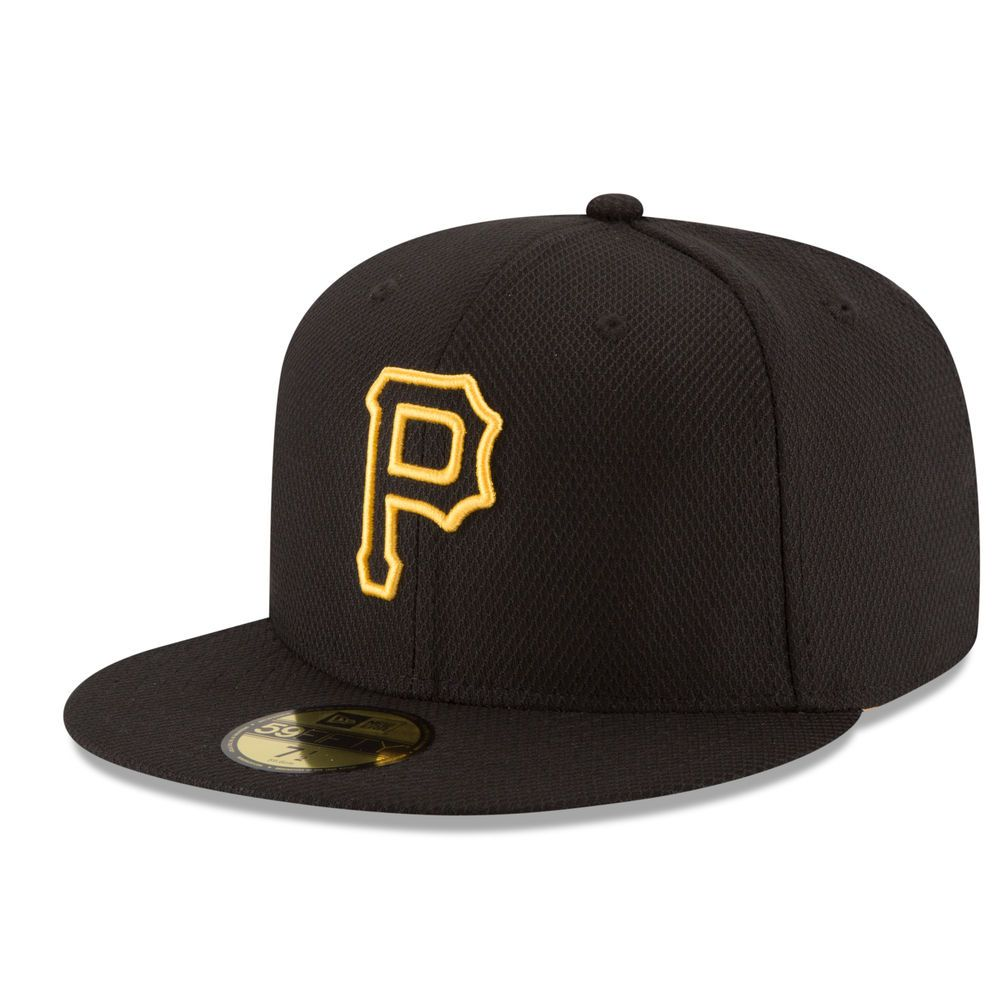 ddc08fee7e6 Pittsburgh Pirates New Era Diamond Era Low Profile 59FIFTY Fitted Hat -  Black