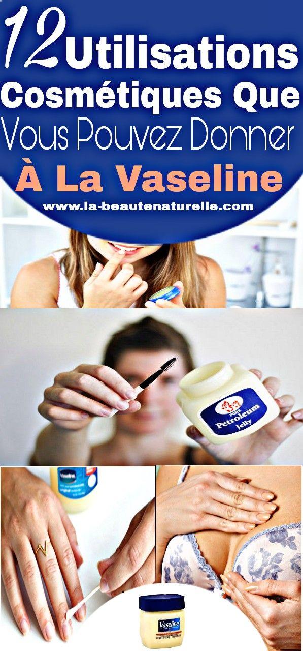 12 Utilisations cosmétiques que vous pouvez donner à la vaseline