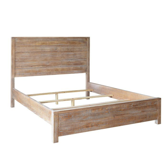 Montauk Solid Wood Bed Solid Wood Bed Panel Bed Wood Furniture