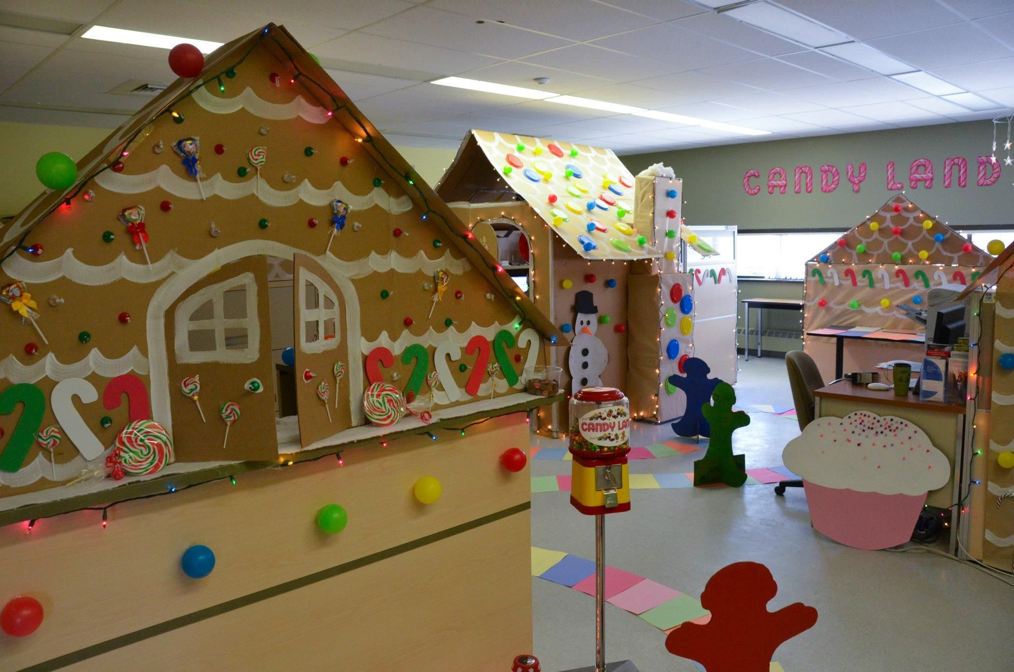 candyland office decorating contest at nipissing university so much fun to do holiday. Black Bedroom Furniture Sets. Home Design Ideas