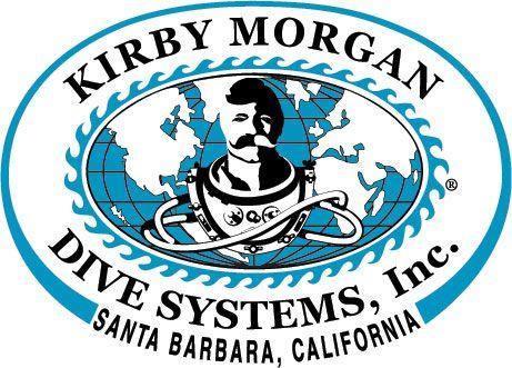 Kirby Morgan Dive Helmet emblem.