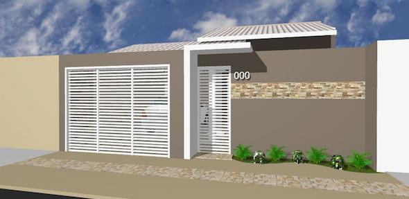 Os muros de casas modernas est o em alta em todo brasil for Casas modernas brasil