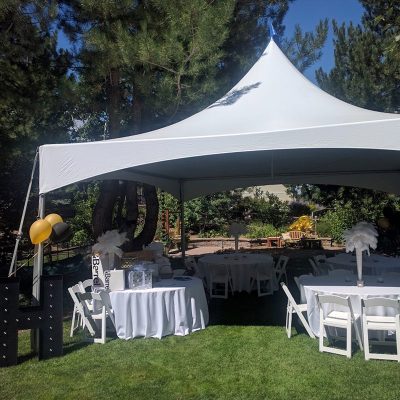 20x20 Party Tent Available To Rent On Goodshuffle Canopy Rentals Party Tent Canopy Tent