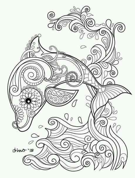 Delfin | arte | Pinterest