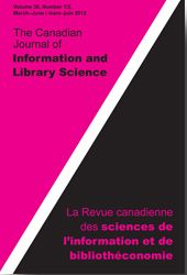 Canadian Journal of Information and Library Science