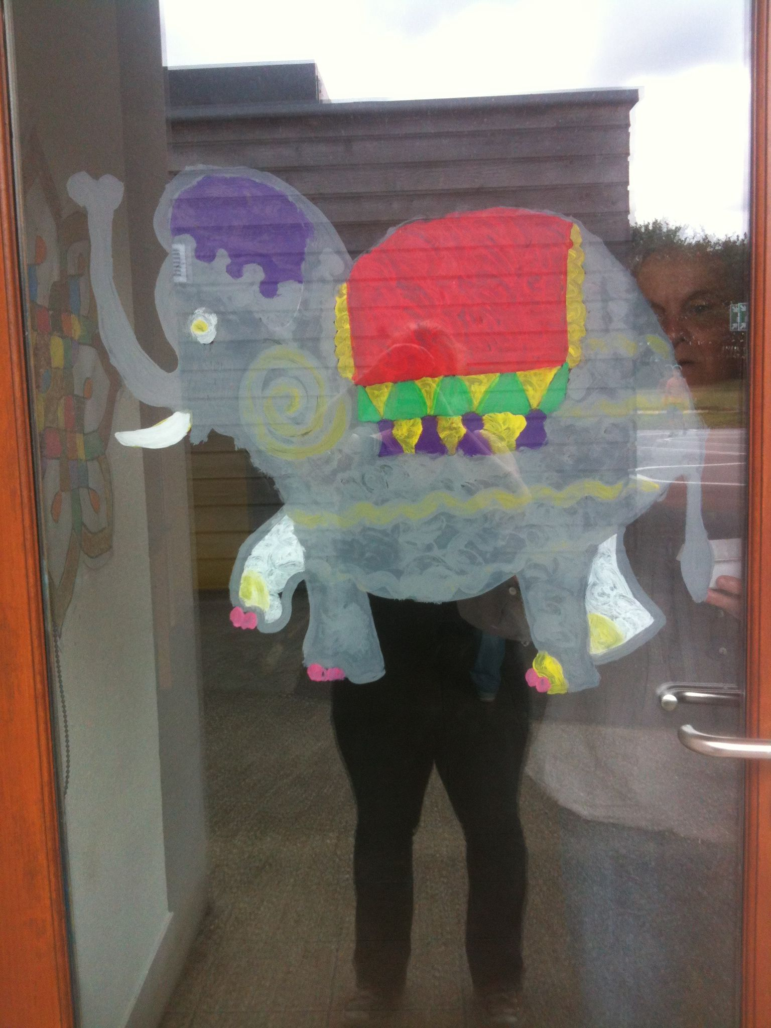 Éléphant peinture