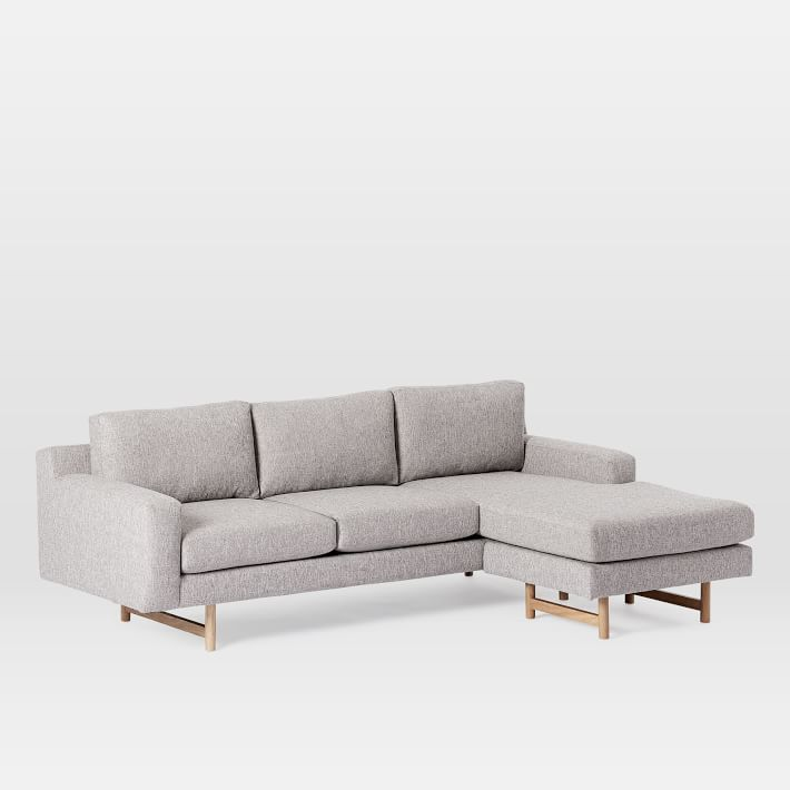 Eddy Reversible Sectional Large West Elm in 2020