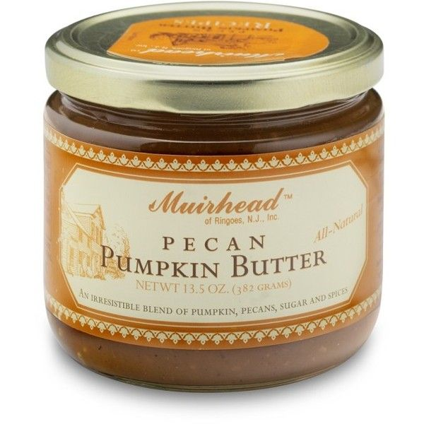 Pecan Pumpkin Butter ($8.99) ❤ liked on Polyvore