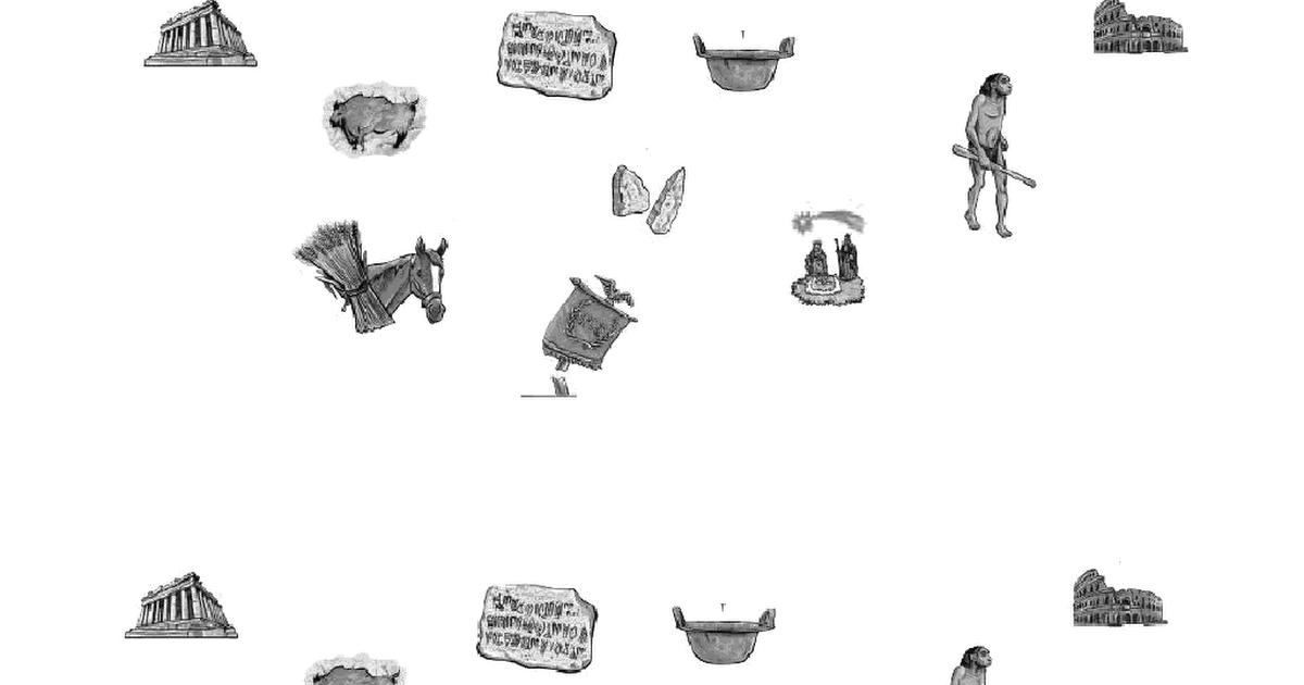 Dibujos Linea Del Tiempo Cuaderno Prehistoria Y Edad Antigua Pdf Prehistoria Linea Del Tiempo Dibujos