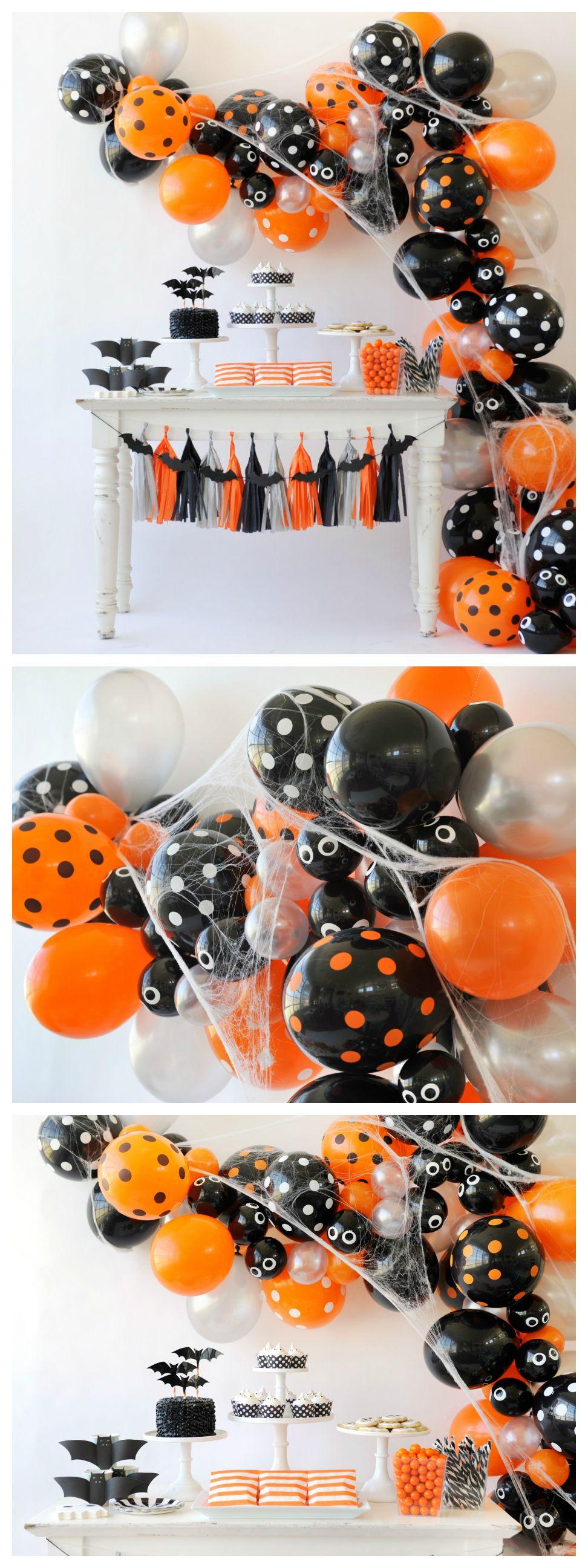 Spooky Halloween Balloon Garland | Halloween Party Decorations