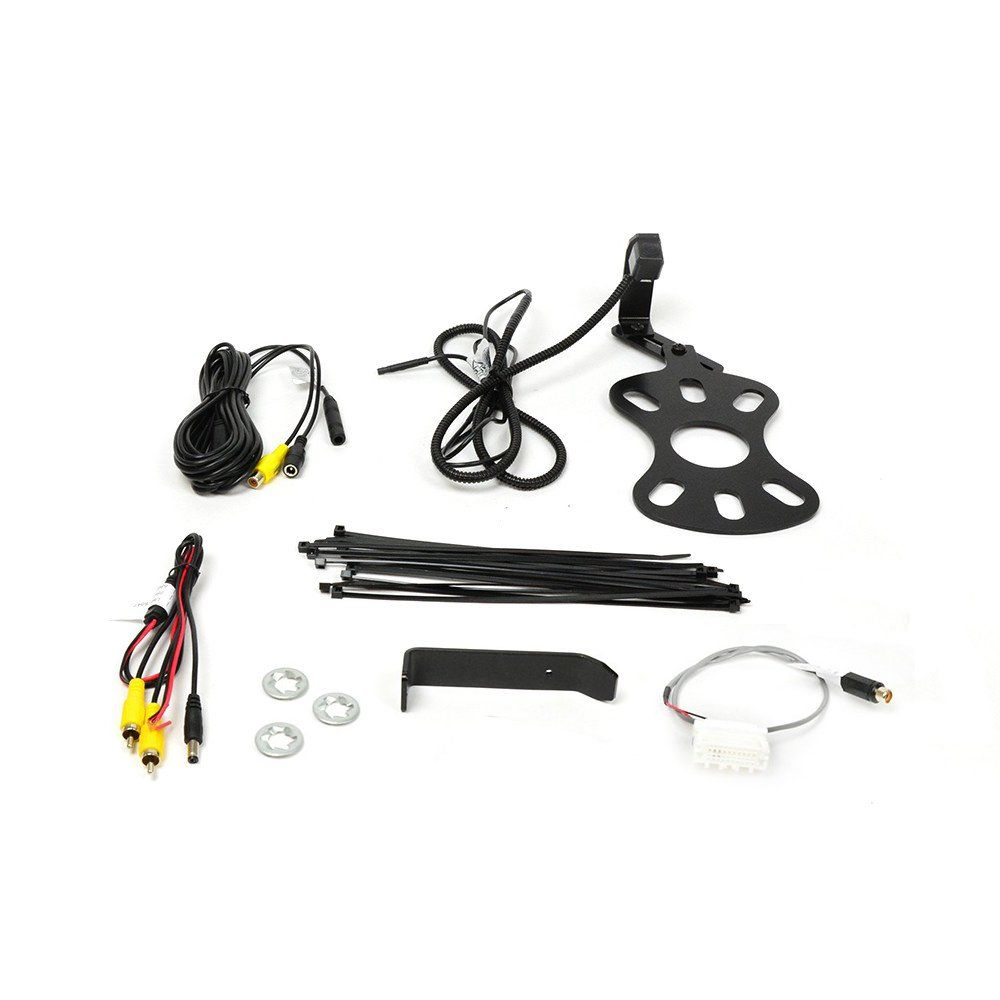 Brandmotion 9002-8848 Rear-view camera for use with aftermarket touchscreen radios in select 2007-up Jeep Wrangler models
