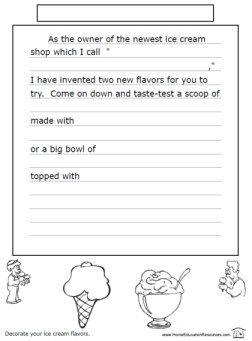32++ Creative writing for kids worksheets Top