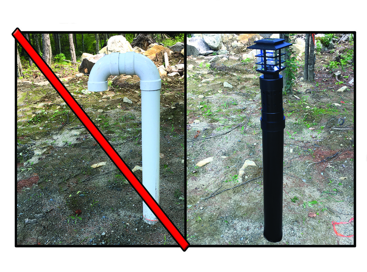 Septic Vent Pipe Covers Zef Jam