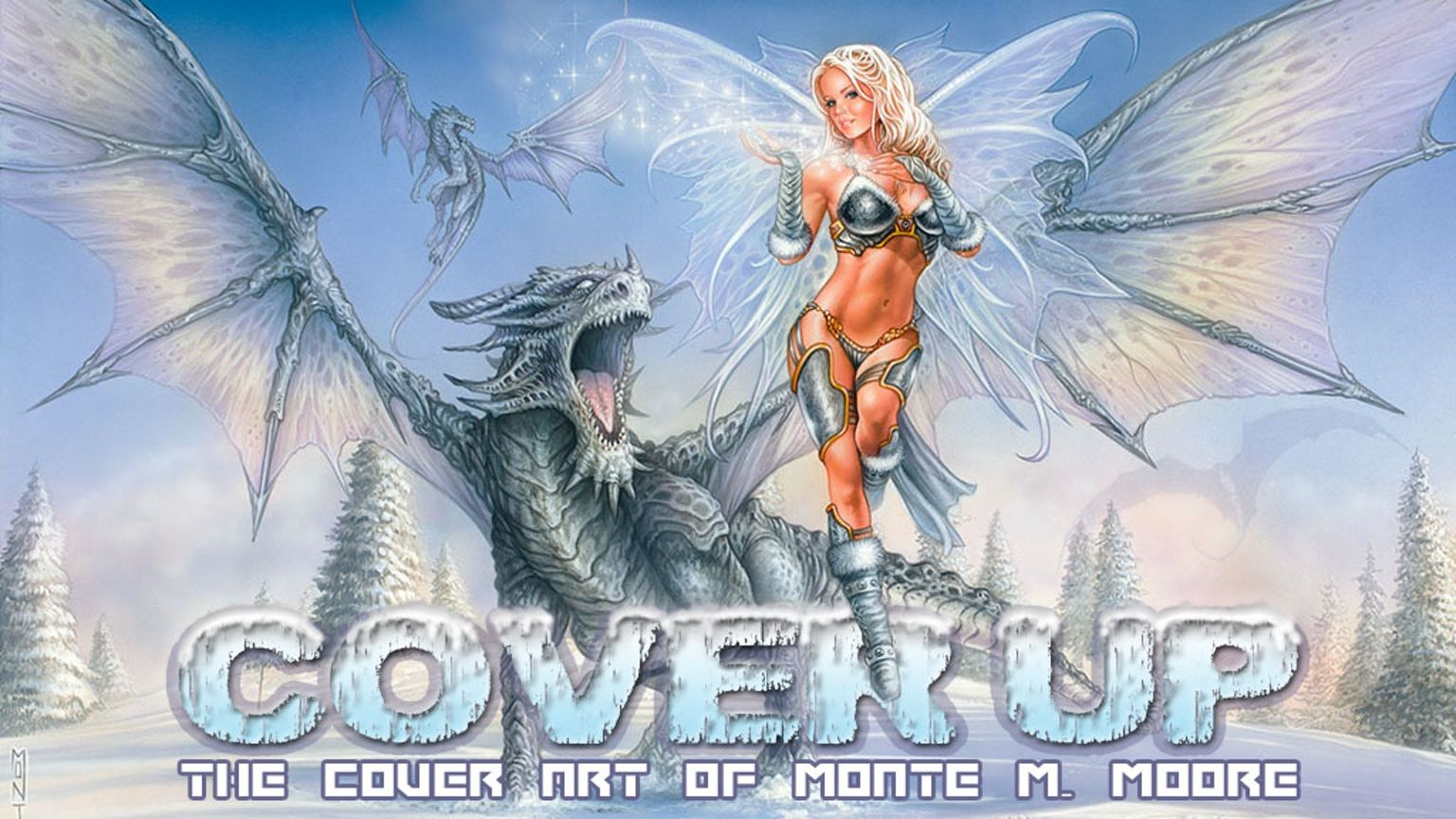 A Comprehensive Collection of Cover Art spanning the 20+ years of Monte's professional career in gaming, comics and sexy pin-up art!