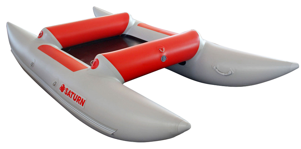 11 5 Saturn Inflatable Frameless Cataraft Catamaran Catamaran Inflatable Kayak Seats