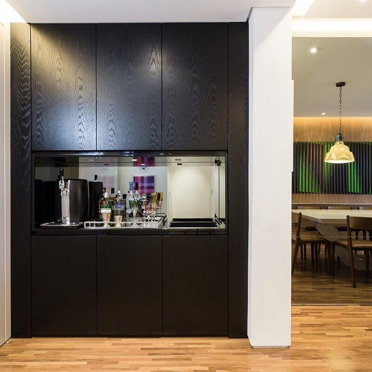 Movel Bar Em Carvalho Ebanizado #figueiredofischer. RooftopLiving Room Ideas IslandLiving ... Part 81
