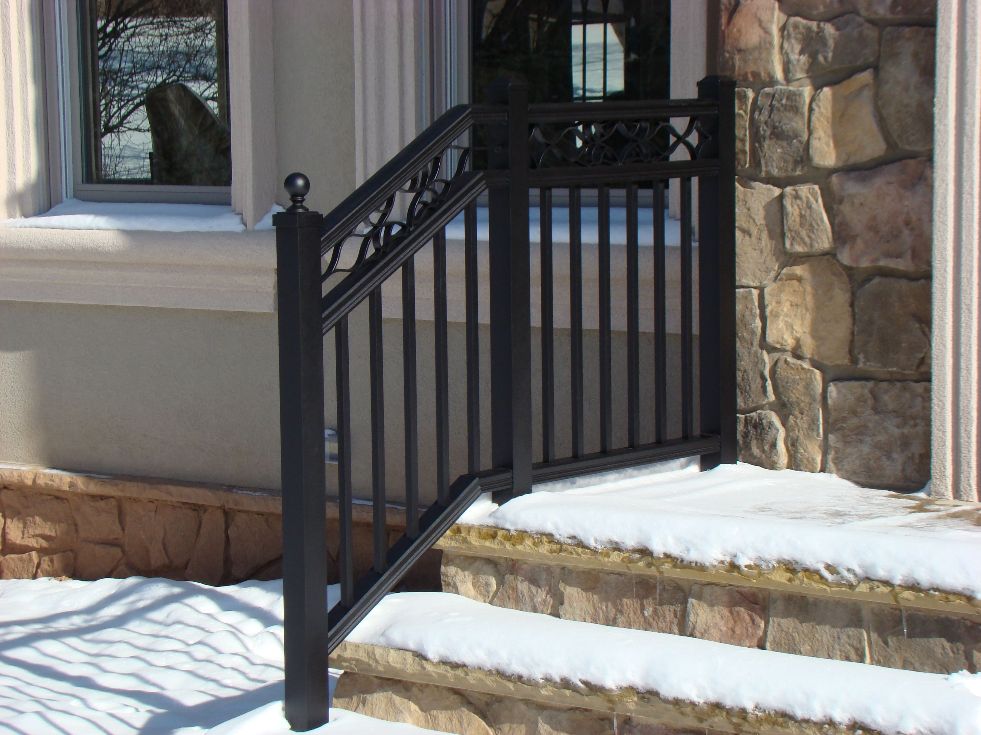 Great Custom Exterior Railing Systems By F&C Professional ...