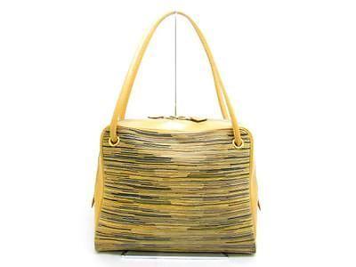 127d0b60ed22 Auth-HERMES-Vibrato-Tintin-Womens-Handbag-Bag-Natural-Multicolor ...