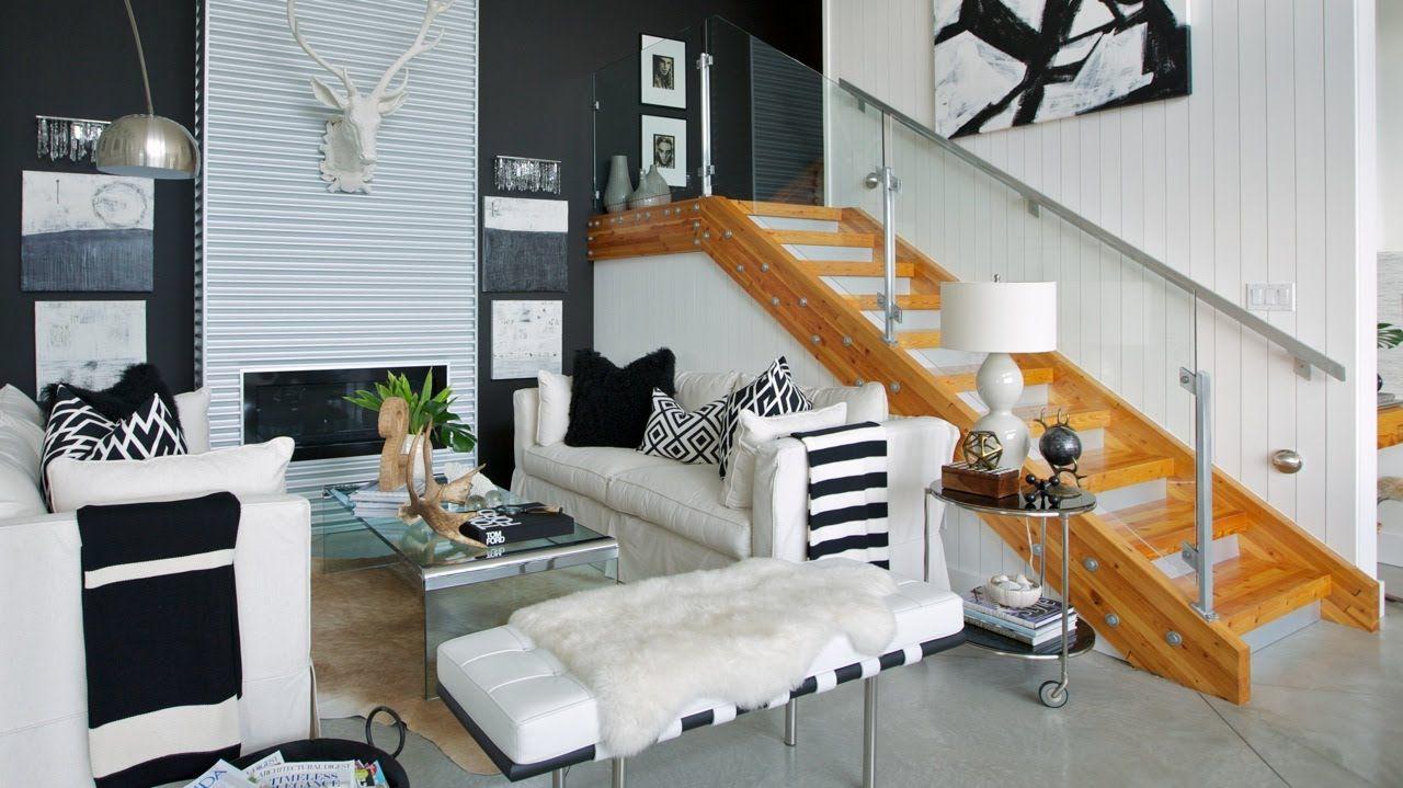 Interior Design — Glam High-Contrast Sunshine Coast Home Lots of ...