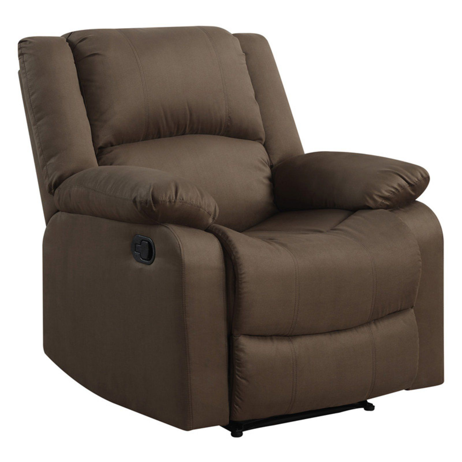 Enjoyable Lifestyle Solutions Parklin Recliner Chocolate Products In Unemploymentrelief Wooden Chair Designs For Living Room Unemploymentrelieforg
