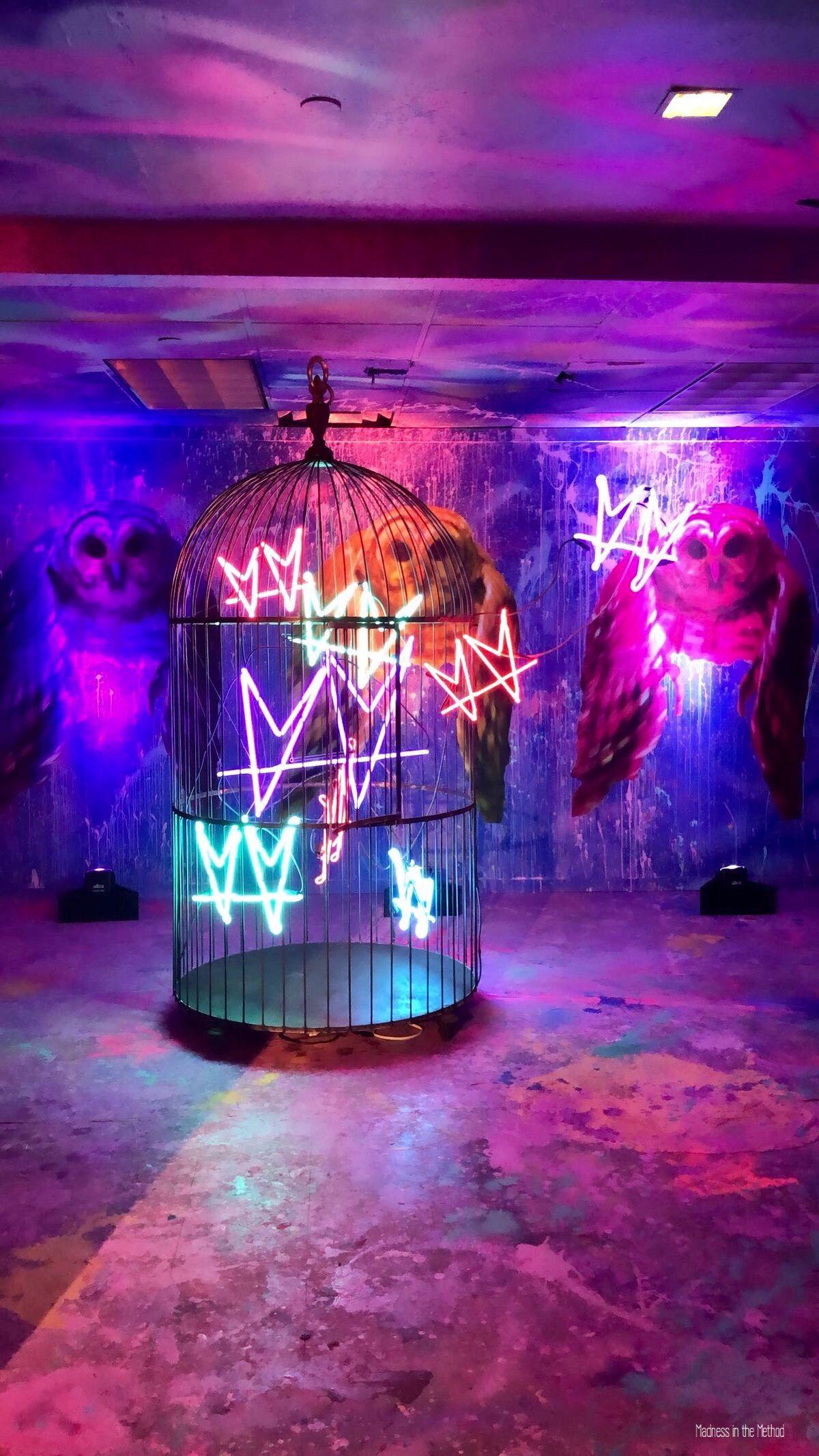 ະ MadnessintheMethod ະ neon in 2020 Neon light art