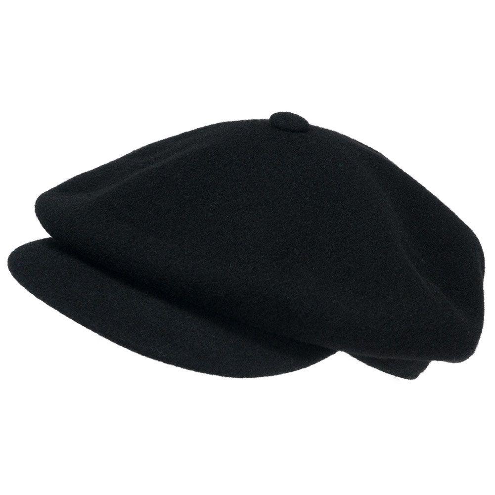 86f714b82 Kangol Wool Spitfire Hat Black   My Style……always BLACK   Hats, Caps ...
