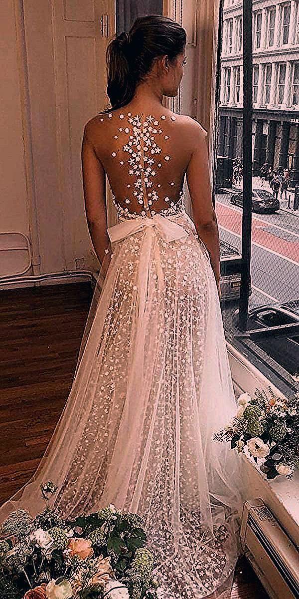 Stunning Trend: Tattoo Effect Wedding Dresses   Wedding Forward