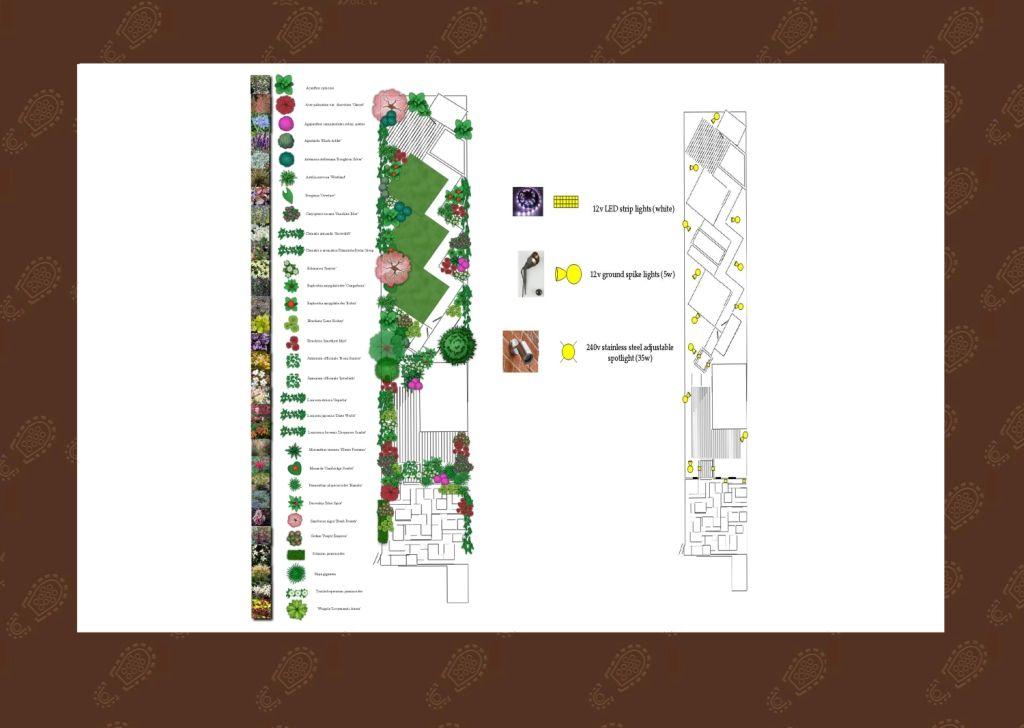 Long narrow garden design  Long narrow garden design Urban garden design  ideas ideas. Long Garden Design   Between Sleeps com