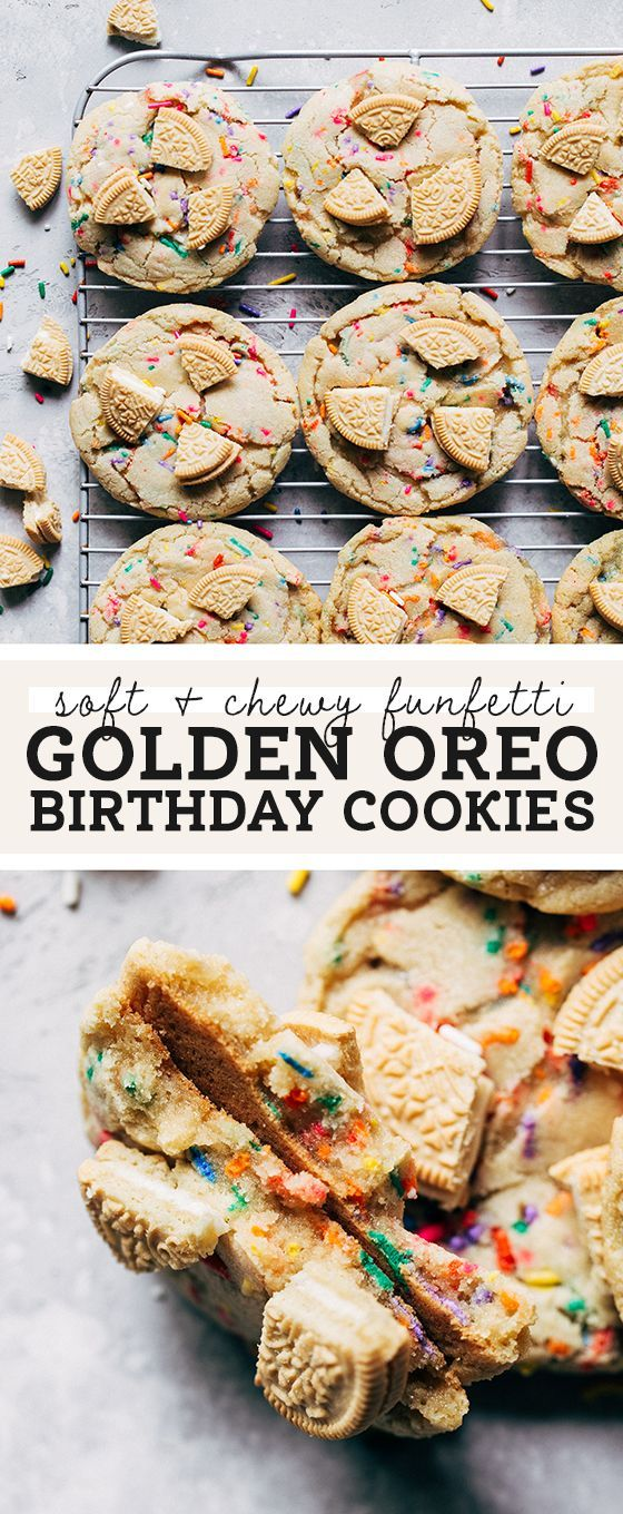 Photo of Golden Birthday Cookies | Cookie Recipes | Butternut Bakery