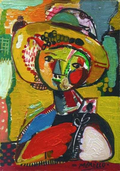 Jose Manuel Merello Madrid 1960 Spanish Expressionist