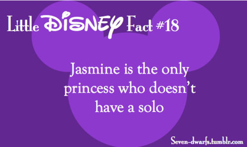 Although the stage version included  To be free  and it is a mighty pretty song is part of Disney facts -